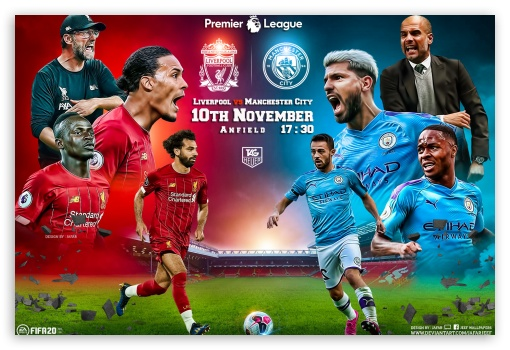 Liverpool Manchester City Ultra Hd Desktop Background Wallpaper For