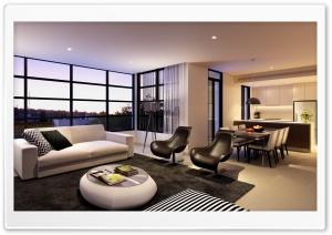 Living Room Design HD Wide Wallpaper for 4K UHD Widescreen desktop & smartphone