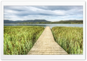 Llac de Banyoles Catalonia HD Wide Wallpaper for Widescreen