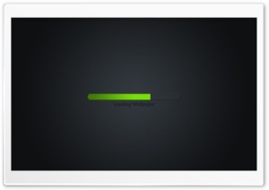 Loading Process HD Wide Wallpaper for Widescreen