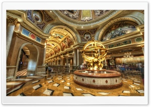 Lobby Of The Venetian HD Wide Wallpaper for Widescreen