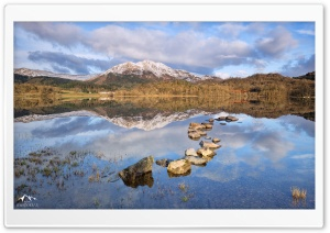 Loch Achray, Scotland HD Wide Wallpaper for Widescreen