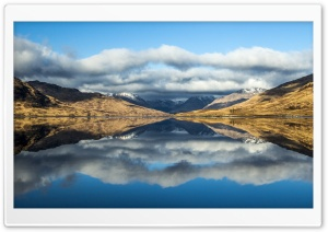 Loch Arklet HD Wide Wallpaper for Widescreen
