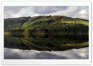Loch Chon panorama Ultra HD Wallpaper for 4K UHD Widescreen desktop, tablet & smartphone