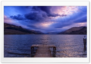 Loch Earn, Scotland HD Wide Wallpaper for Widescreen