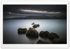 Loch Rocks Ultra HD Wallpaper for 4K UHD Widescreen desktop, tablet & smartphone
