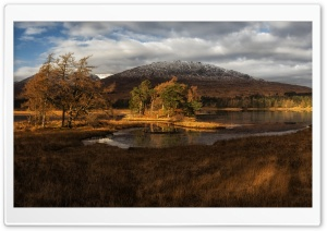 Loch Tulla HD Wide Wallpaper for 4K UHD Widescreen desktop & smartphone