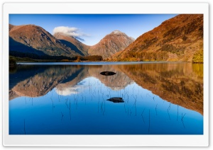 Lochan Urr, Glen Etive, Highlands of Scotland Scenery Ultra HD Wallpaper for 4K UHD Widescreen desktop, tablet & smartphone
