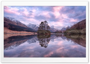 Lochan Urr, Glen Etive, Scotland HD Wide Wallpaper for Widescreen