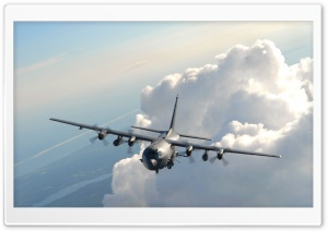 Lockheed AC 130 U Ultra HD Wallpaper for 4K UHD Widescreen desktop, tablet & smartphone