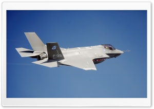Lockheed Martin F-35 Lightning II HD Wide Wallpaper for 4K UHD Widescreen desktop & smartphone
