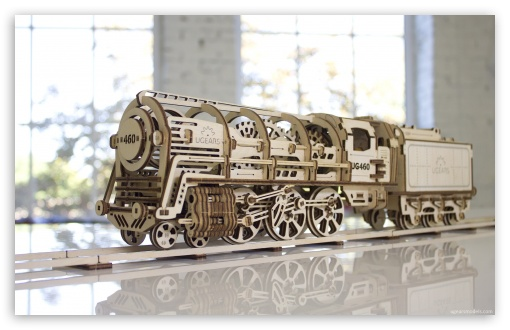 Locomotive with tender UGEARS 460 ❤ 4K UHD Wallpaper for Wide 16:10 5:3 Widescreen WHXGA WQXGA WUXGA WXGA WGA ; 4K UHD 16:9 Ultra High Definition 2160p 1440p 1080p 900p 720p ; Standard 4:3 3:2 Fullscreen UXGA XGA SVGA DVGA HVGA HQVGA ( Apple PowerBook G4 iPhone 4 3G 3GS iPod Touch ) ; iPad 1/2/Mini ; Mobile 4:3 5:3 3:2 16:9 - UXGA XGA SVGA WGA DVGA HVGA HQVGA ( Apple PowerBook G4 iPhone 4 3G 3GS iPod Touch ) 2160p 1440p 1080p 900p 720p ;