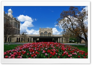 Logan LDS Temple HD Wide Wallpaper for Widescreen
