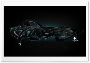 Logitech Dark Graffiti HD Wide Wallpaper for 4K UHD Widescreen desktop & smartphone