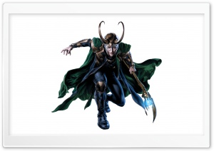 Loki Laufeyson - The Avengers HD Wide Wallpaper for Widescreen