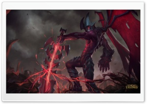 LoL Aatrox HD Wide Wallpaper for Widescreen