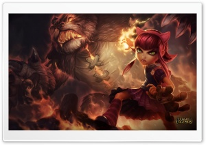 LoL Annie HD Wide Wallpaper for Widescreen