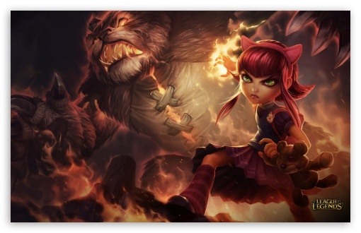 LoL Annie HD wallpaper for Wide 16:10 5:3 Widescreen WHXGA WQXGA WUXGA WXGA WGA ; HD 16:9 High Definition WQHD QWXGA 1080p 900p 720p QHD nHD ; Mobile 5:3 16:9 - WGA WQHD QWXGA 1080p 900p 720p QHD nHD ;