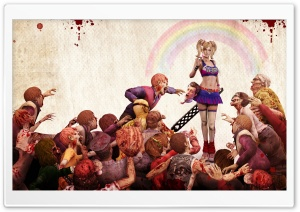 Lollipop Chainsaw Game HD Wide Wallpaper for Widescreen