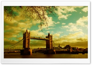London Bridge Ultra HD Wallpaper for 4K UHD Widescreen desktop, tablet & smartphone