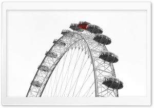 London Eye Ultra HD Wallpaper for 4K UHD Widescreen desktop, tablet & smartphone