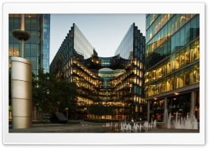 London Glass Building HD Wide Wallpaper for Widescreen