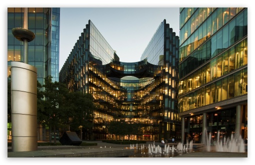 Download London Glass Building UltraHD Wallpaper