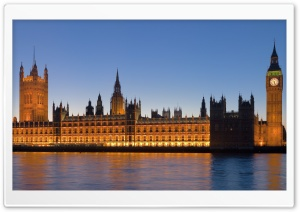 London Houses Of Parliament HD Wide Wallpaper for Widescreen