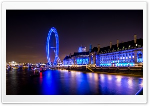 London Night Ultra HD Wallpaper for 4K UHD Widescreen desktop, tablet & smartphone