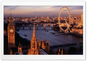 London Panorama HD Wide Wallpaper for 4K UHD Widescreen desktop & smartphone