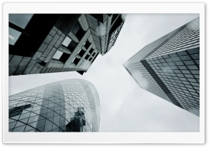 London Skyscrapers HD Wide Wallpaper for Widescreen