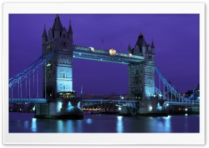 London Tower Bridge HD Wide Wallpaper for Widescreen