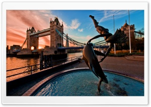 Londons Tower Bridge Ultra HD Wallpaper for 4K UHD Widescreen desktop, tablet & smartphone