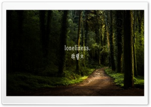 Loneliness HD Wide Wallpaper for Widescreen