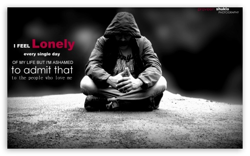 LONELY HD wallpaper for Wide 5:3 Widescreen WGA ; HD 16:9 High Definition WQHD QWXGA 1080p 900p 720p QHD nHD ; Mobile 5:3 16:9 - WGA WQHD QWXGA 1080p 900p 720p QHD nHD ;