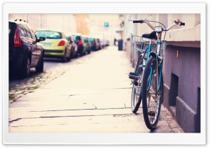 Lonely Bicycle HD Wide Wallpaper for Widescreen