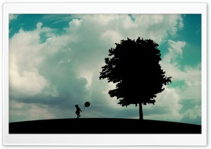 Lonely Child HD Wide Wallpaper for Widescreen
