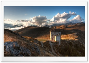 Lonely Church HD Wide Wallpaper for Widescreen