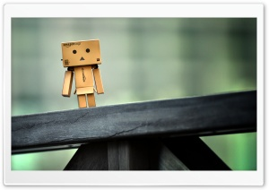 Lonely Danbo HD Wide Wallpaper for Widescreen