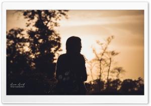 Lonely Girl-2 Ultra HD Wallpaper for 4K UHD Widescreen desktop, tablet & smartphone