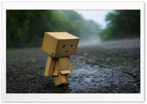 Lonely Robot HD Wide Wallpaper for Widescreen