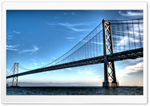 Long Bridge HDR HD Wide Wallpaper for Widescreen