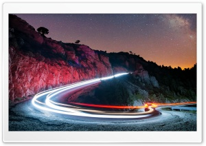 Long Exposure Landscape HD Wide Wallpaper for Widescreen