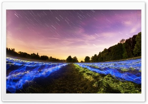 Long Exposure Sky HD Wide Wallpaper for Widescreen