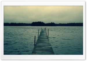 Long Jetty HD Wide Wallpaper for Widescreen