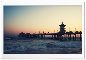 Long Pier HD Wide Wallpaper for Widescreen
