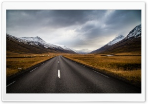 Long Road HD Wide Wallpaper for Widescreen