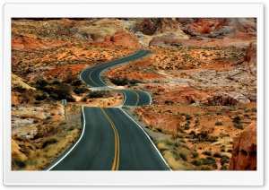 Long Road Ultra HD Wallpaper for 4K UHD Widescreen desktop, tablet & smartphone