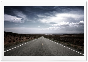 Long Road Ahead HD Wide Wallpaper for Widescreen