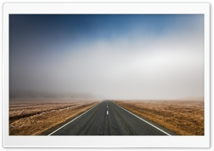 Long Straight Road HD Wide Wallpaper for Widescreen